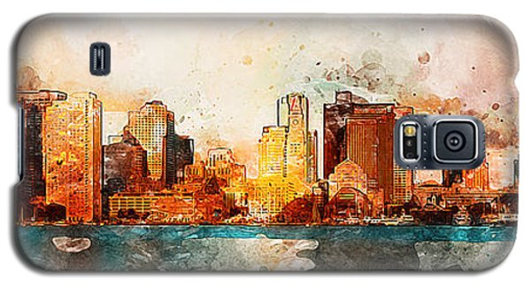 Boston, Panorama - 10 Galaxy S5 Case