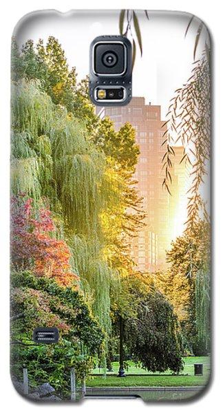 Boston Public Garden Sunrise Galaxy S5 Case
