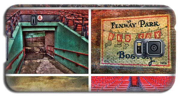 Boston Red Sox Collage - Fenway Park Galaxy S5 Case by Joann Vitali