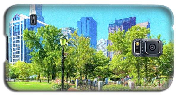 Boston Skyline From Columbus Park Galaxy S5 Case