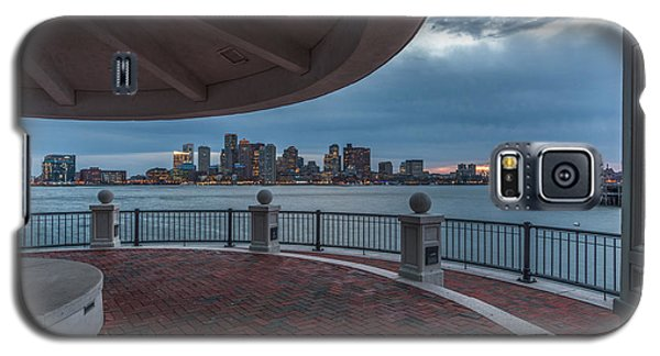 Boston Skyline From Piers Park  East Boston Ma Galaxy S5 Case
