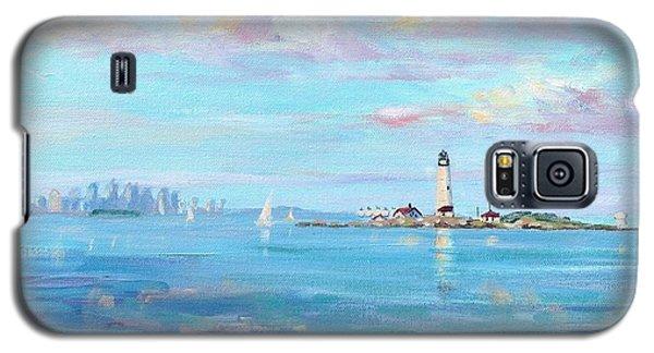 Boston Skyline Galaxy S5 Case by Laura Lee Zanghetti