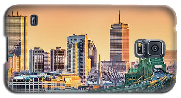 Boston Skyline Galaxy S5 Case