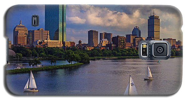 Boston Skyline Galaxy S5 Case by Rick Berk
