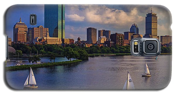 Town Galaxy S5 Case - Boston Skyline by Rick Berk