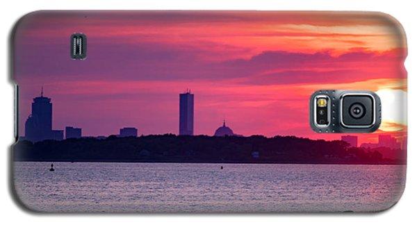 Boston Skyline Worlds End Galaxy S5 Case