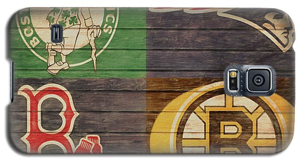 Boston Sports Teams Barn Door Galaxy S5 Case