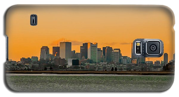 Boston Sunset Galaxy S5 Case