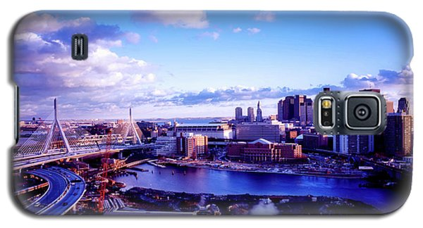 Boston Sunset Galaxy S5 Case by L O C
