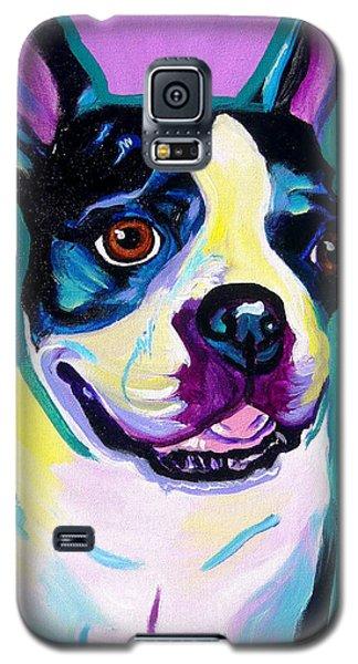 Boston Terrier - Jack Boston Galaxy S5 Case