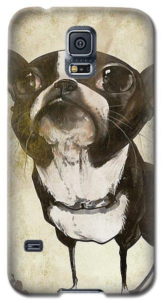 Boston Terrier - Antique Galaxy S5 Case