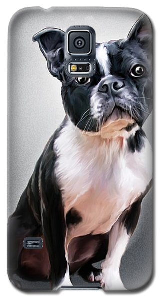 Boston Terrier By Spano Galaxy S5 Case