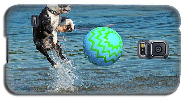 Boston Terrier High Jump Galaxy S5 Case