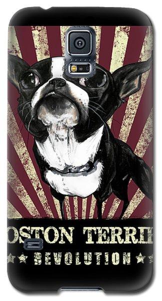Boston Terrier Revolution Galaxy S5 Case