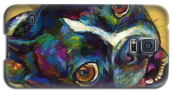 Boston Terrier Galaxy S5 Case by Robert Phelps