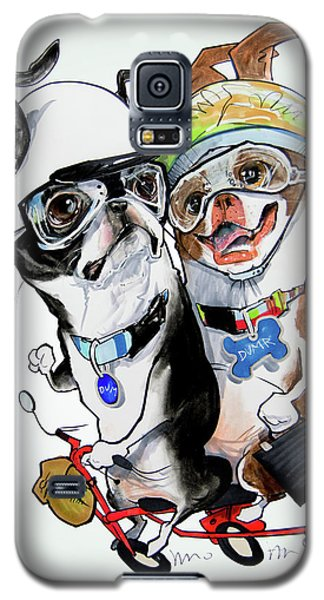 Boston Terriers - Dumb And Dumber Galaxy S5 Case