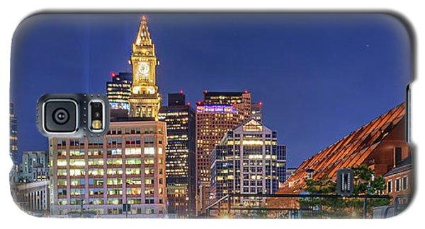 Boston's Custom House Tower From Long Wharf Galaxy S5 Case