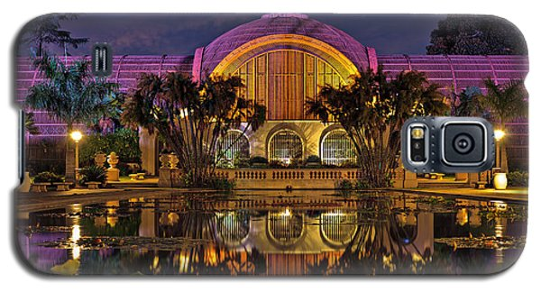 Botanical Building At Night In Balboa Park Galaxy S5 Case