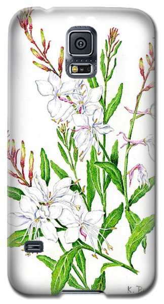 Botanical Illustration Floral Painting Galaxy S5 Case
