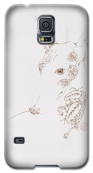Botanicalia Greyhound Galaxy S5 Case