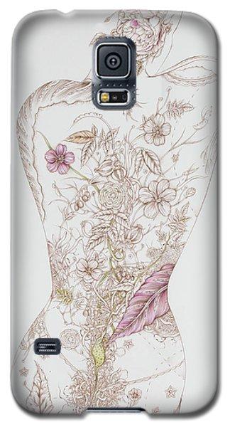 Botanicalia Tristan Galaxy S5 Case by Karen Robey