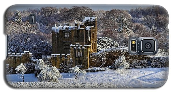 Bothal Castle In Winter Galaxy S5 Case