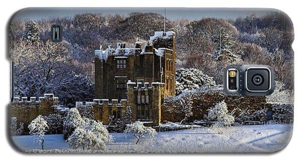 Bothal Castle In Winter Galaxy S5 Case