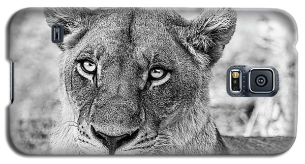 Botswana  Lioness In Black And White Galaxy S5 Case