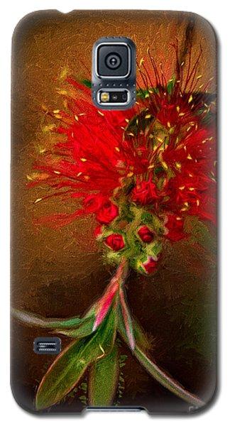 Bottle Brush Flower Galaxy S5 Case