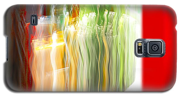 Galaxy S5 Case featuring the photograph Bottle By The Window by Susan Capuano