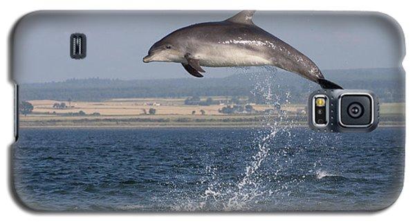 High Jump - Bottlenose Dolphin  - Scotland #42 Galaxy S5 Case