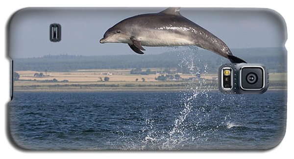 High Jump - Bottlenose Dolphin  - Scotland #42 Galaxy S5 Case