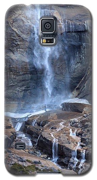 Bottom Part Of Upper Yosemite Waterfall Galaxy S5 Case