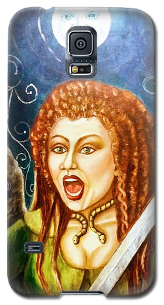 Boudicca  Let Not Our Daughters Be Forgotten Galaxy S5 Case