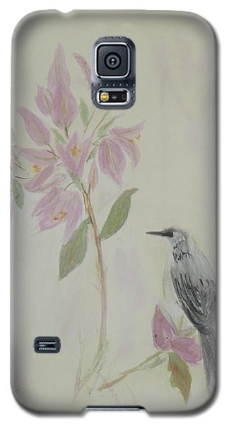 Bougainvillea And Mockingbird Galaxy S5 Case by Donna Walsh