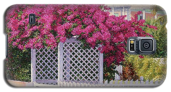 Bougainvillea Crown Galaxy S5 Case