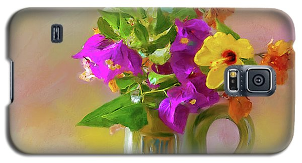 Bougainvilleas In A Green Jar. Galaxy S5 Case