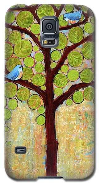 Boughs In Leaf Tree Galaxy S5 Case