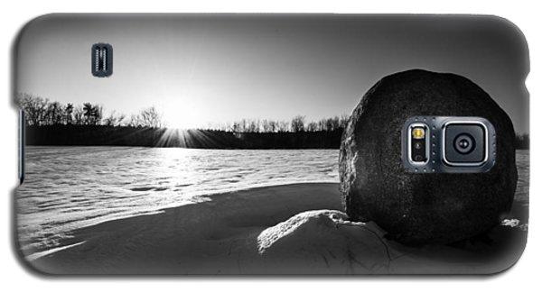 Boulder At Sunset Galaxy S5 Case