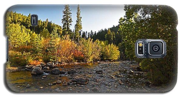 Boulder Colorado Canyon Creek Fall Foliage Galaxy S5 Case