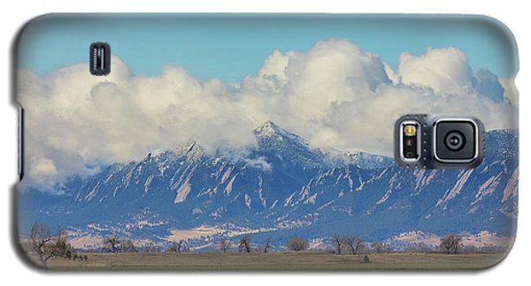 Galaxy S5 Case featuring the photograph Boulder Colorado Front Range Cloud Pile On by James BO Insogna