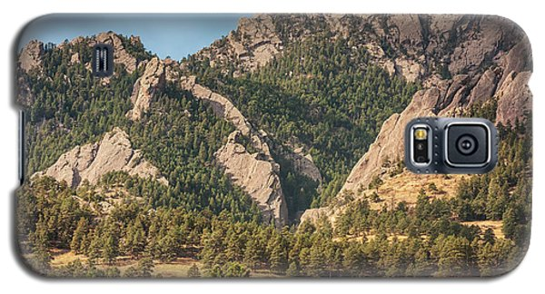 Galaxy S5 Case featuring the photograph Boulder Colorado Rocky Mountain Foothills by James BO Insogna