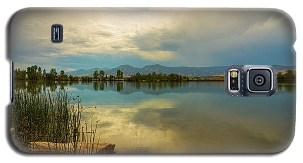 Galaxy S5 Case featuring the photograph Boulder County Colorado Calm Before The Storm by James BO Insogna