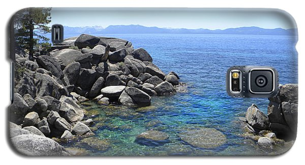 Boulder Cove On Lake Tahoe Galaxy S5 Case
