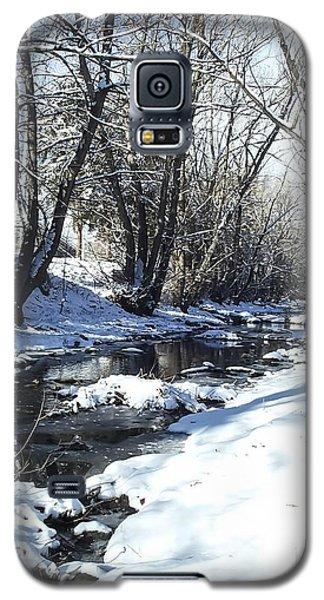 Boulder Creek After A Snowstorm Galaxy S5 Case