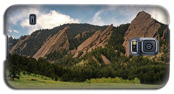 Boulder's Flatirons Galaxy S5 Case