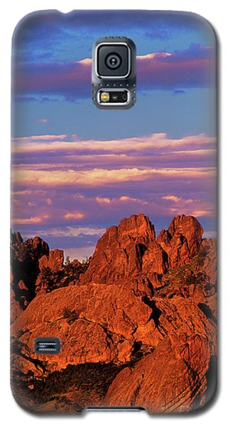 Boulders Sunset Light Pinnacles National Park Californ Galaxy S5 Case