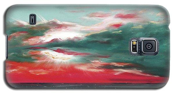 Bound Of Glory - Panoramic Sunset  Galaxy S5 Case