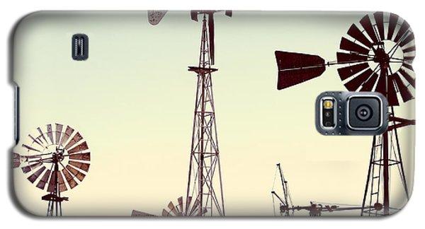 Bountiful Windmills Galaxy S5 Case