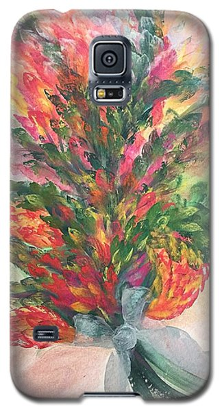 Bouquet And Ribbon Galaxy S5 Case